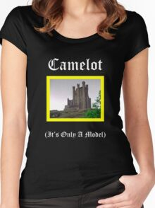 Camelot-Only A Model Women's Fitted Scoop T-Shirt