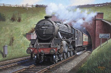 Stanier Black Five by Mike Jeffries