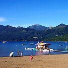 Lake Caburgua Chile II by Daidalos