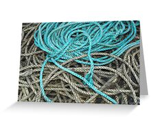 Money for old rope Greeting Card