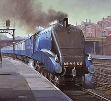 Gresley's Mallard by Mike Jeffries