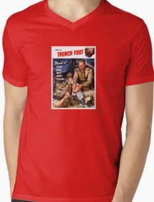 This Is Trench Foot -- Prevent It! Mens V-Neck T-Shirt