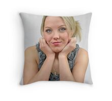 In Thought Throw Pillow