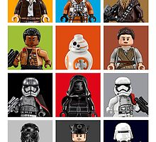 Lego The Force Awakens by dreymont