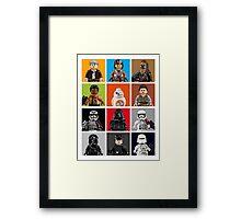 Lego The Force Awakens Framed Print
