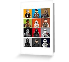 Lego The Force Awakens Greeting Card