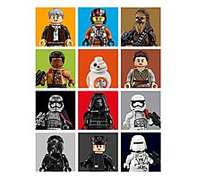 Lego The Force Awakens Photographic Print