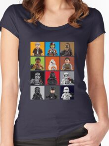 Lego The Force Awakens Women's Fitted Scoop T-Shirt