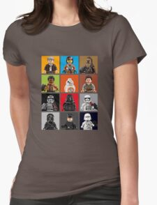 Lego The Force Awakens Womens Fitted T-Shirt