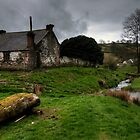 Welsh cottage in the valley by Rob Hawkins