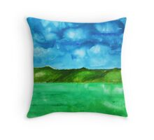 Just Breath Throw Pillow