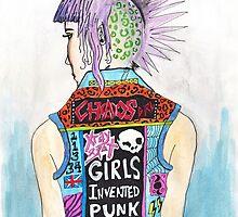 Girls Invented Punk Rock by lunaelizabeth