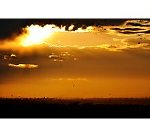 Golden Land Photographic Print