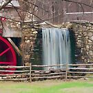 New England Grist Mill III by Monica M. Scanlan