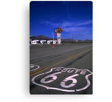 Last Chance for Gas Canvas Print