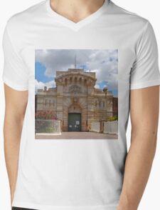 Bathurst Gaol Entrance, New South Wales, Australia Mens V-Neck T-Shirt