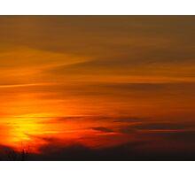 Bullet Sunset Photographic Print
