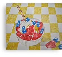 Berry sundae Metal Print