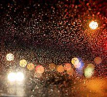 Light & Rain in New York City by LaNita Adams
