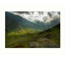 Craig Cau, Snowdonia, Wales Art Print