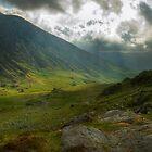 Craig Cau, Snowdonia, Wales by strangelight