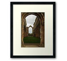 Fountains Abbey Church Framed Print