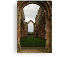 Fountains Abbey Church Canvas Print