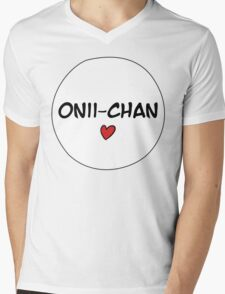 MANGA BUBBLES - ONII-CHAN Mens V-Neck T-Shirt
