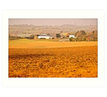 East Devon Rural ...6 Art Print