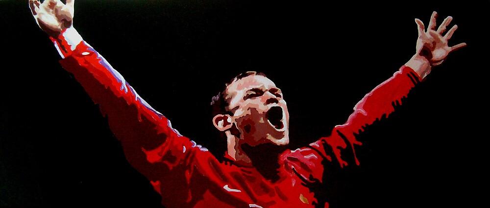 Wayne Rooney by db artstudio by Deborah Boyle