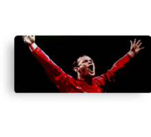 Wayne Rooney by db artstudio Canvas Print
