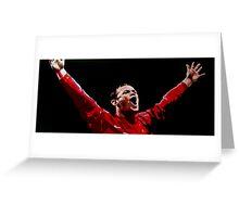 Wayne Rooney by db artstudio Greeting Card