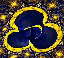 Escher Golden Loonie Pool  by Beatriz  Cruz