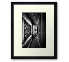 Straight Up Justice Framed Print