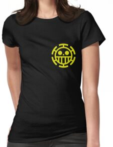 trafalgar law pirates logo Womens Fitted T-Shirt