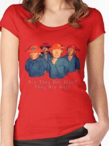 Devo Hugo tee V.2 Women's Fitted Scoop T-Shirt