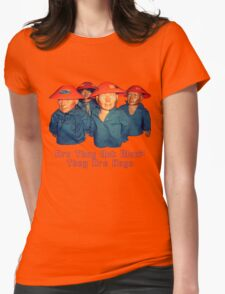 Devo Hugo tee V.2 Womens Fitted T-Shirt