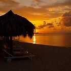 Beach Chairs in the Evening by tigerwings