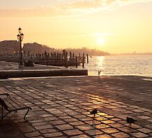 Sunrise in Venice by Sergey Martyushev