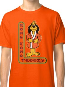 Hong Kong Phooey Chinatown Neon Sign Classic T-Shirt