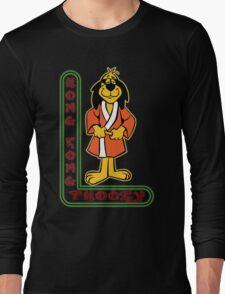 Hong Kong Phooey Chinatown Neon Sign Long Sleeve T-Shirt