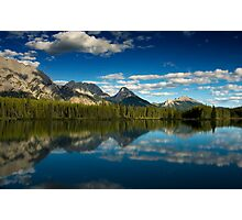 Reflections in Kananaskis, Canada Photographic Print