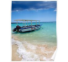 Glass Bottom Boat of Negril Poster