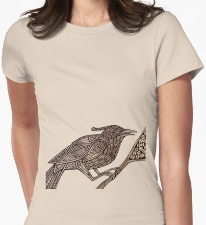 Totem Bird II Womens Fitted T-Shirt