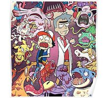 Rick and Mortymon Poster