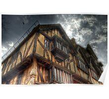 Tudor House - Oxford Poster