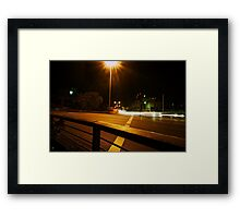ABC roundabout Framed Print