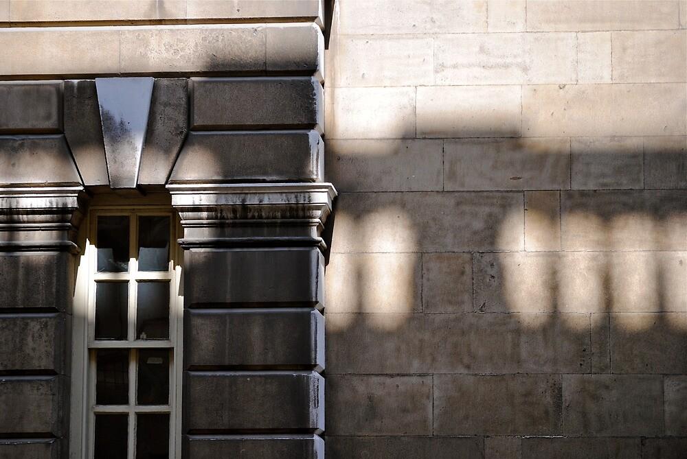 Balcony shadow by richard  webb