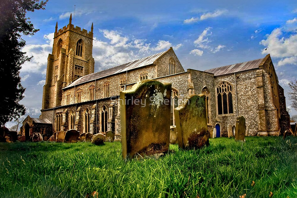 An English Country Church? by Shirley Shelton