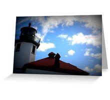 Lomography Lighthouse! Greeting Card